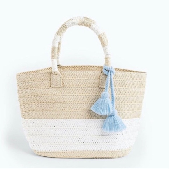 Altru Handbags - NWOT Altru Straw Tote Purse